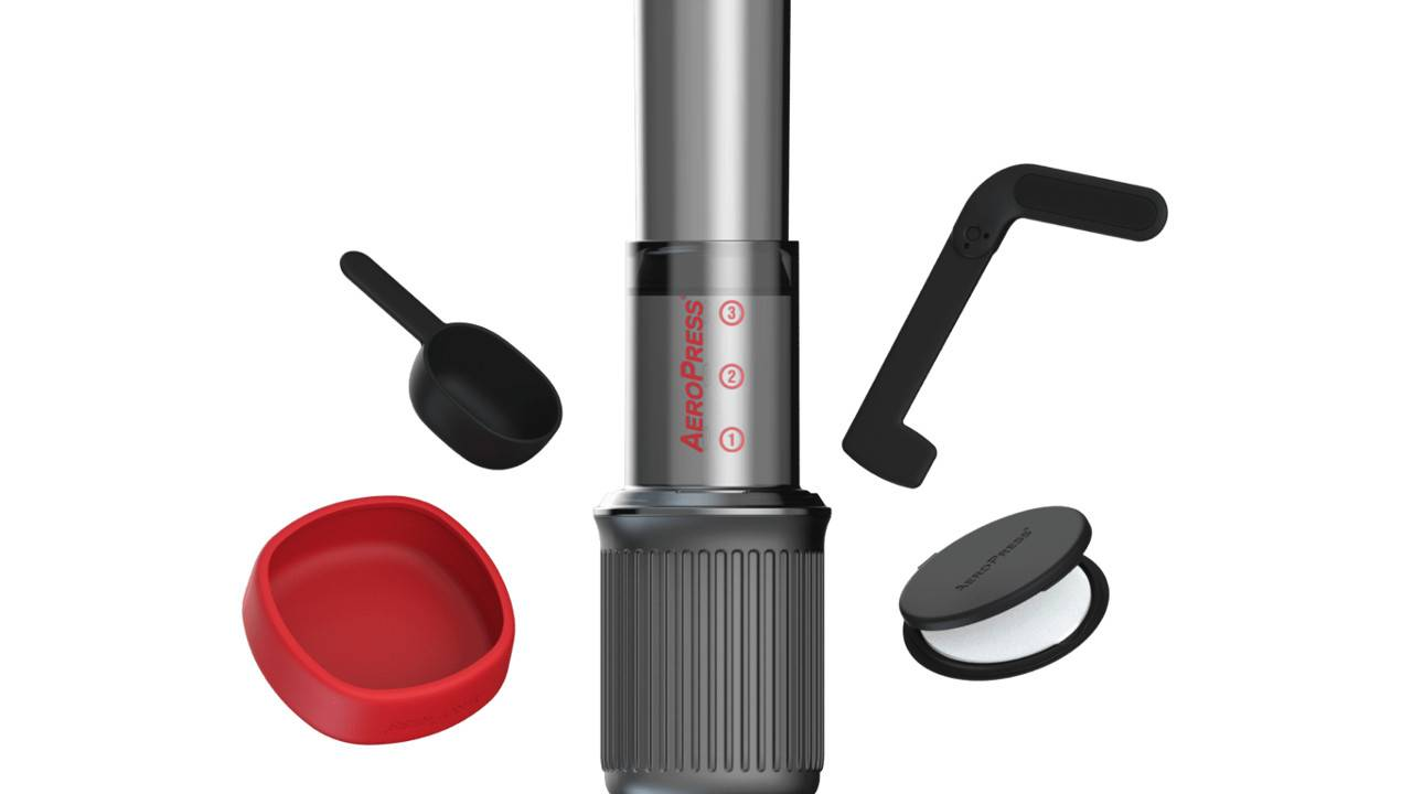 Aeropress Go gives coffee-fans the portability they've been asking for