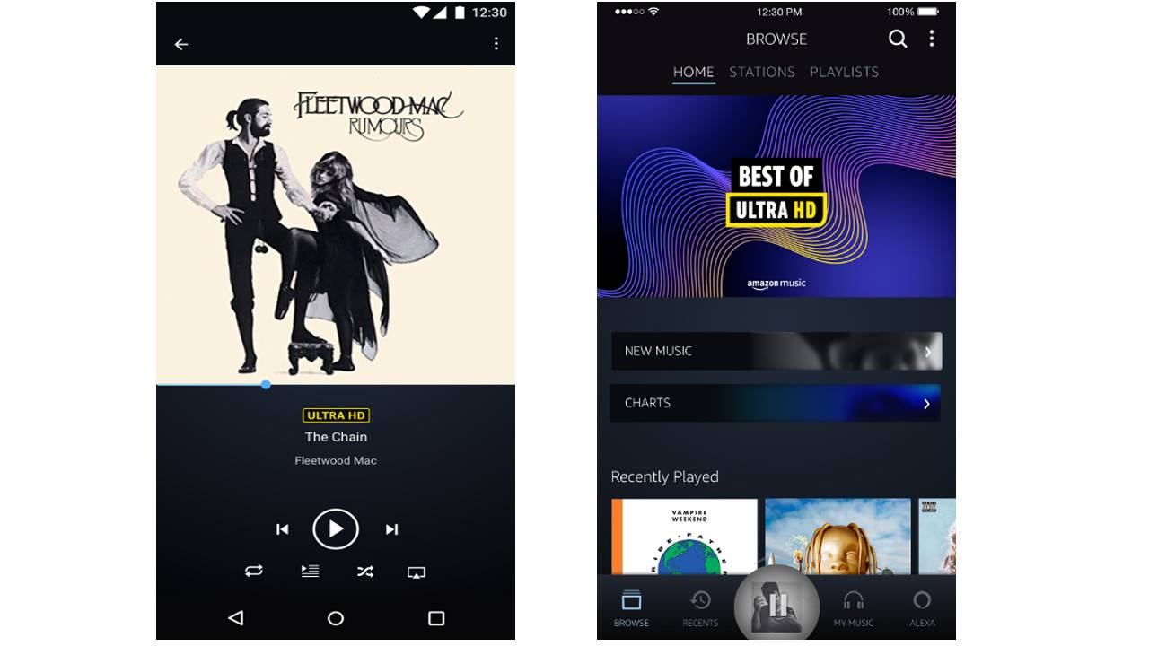 Amazon Music HD arrives with high quality music streaming