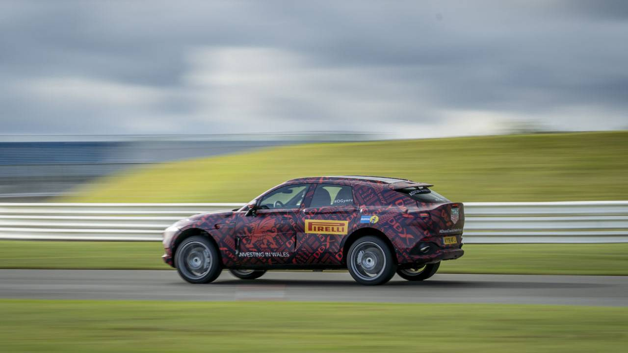 Aston Martin DBX SUV has a 4.0L twin-turbo V8 under the hood
