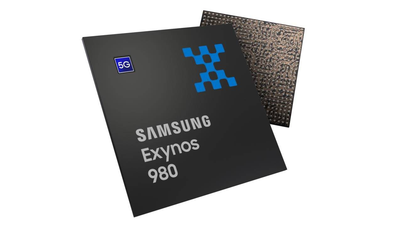 Samsung Exynos 980 drops a digit, gains integrated 5G modem