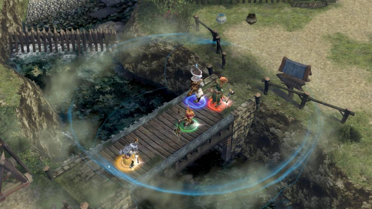 Final Fantasy Crystal Chronicles remaster dated and detailed