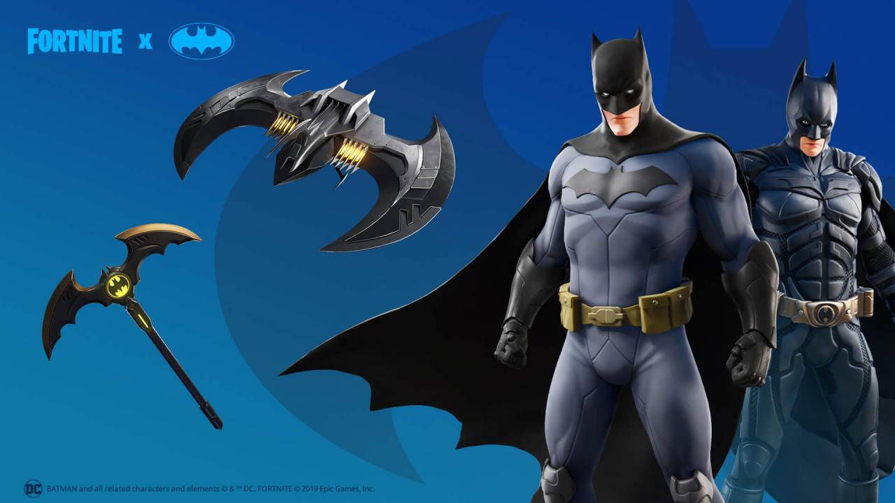Fortnite Celebrates Batman Day With Skins Special Challenge