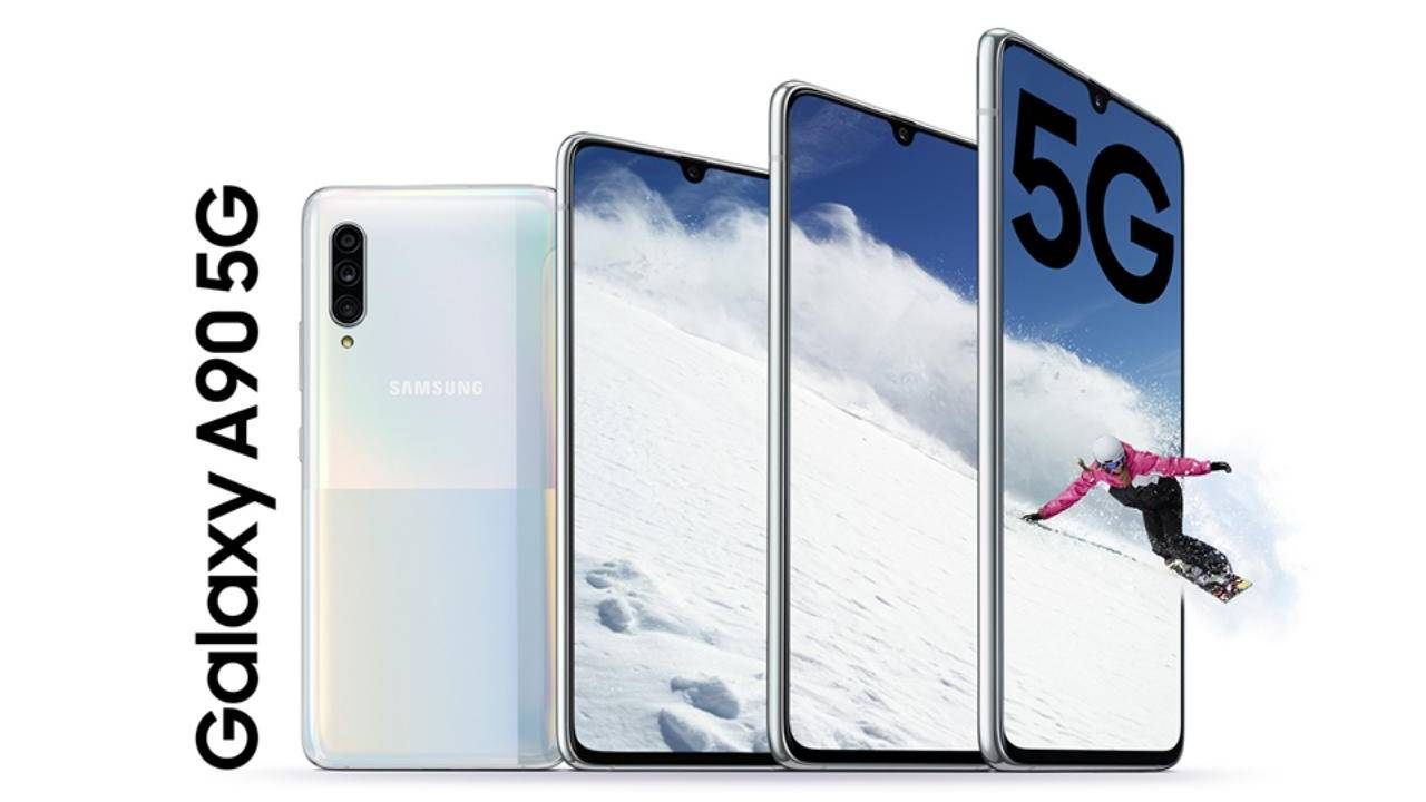 Galaxy A90 brings Snapdragon 855 5G and DeX to Samsung's mid-range