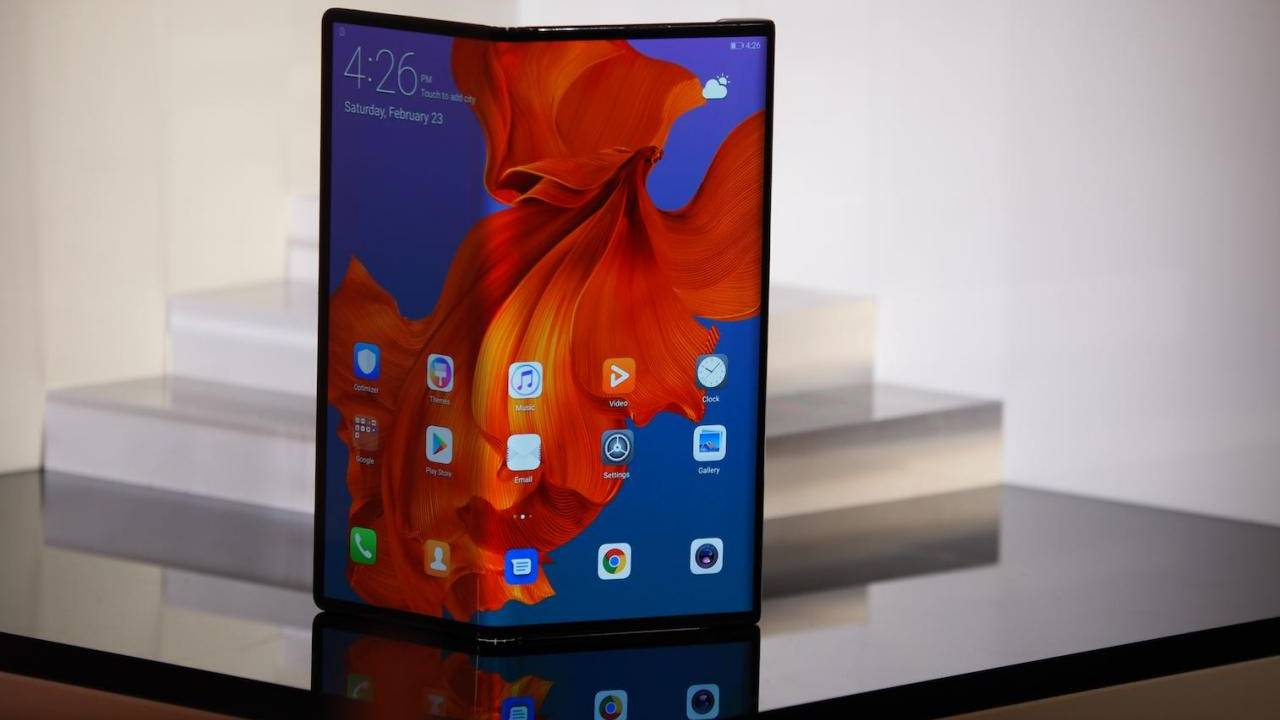 Huawei Mate X 5G foldable phone is still coming next month