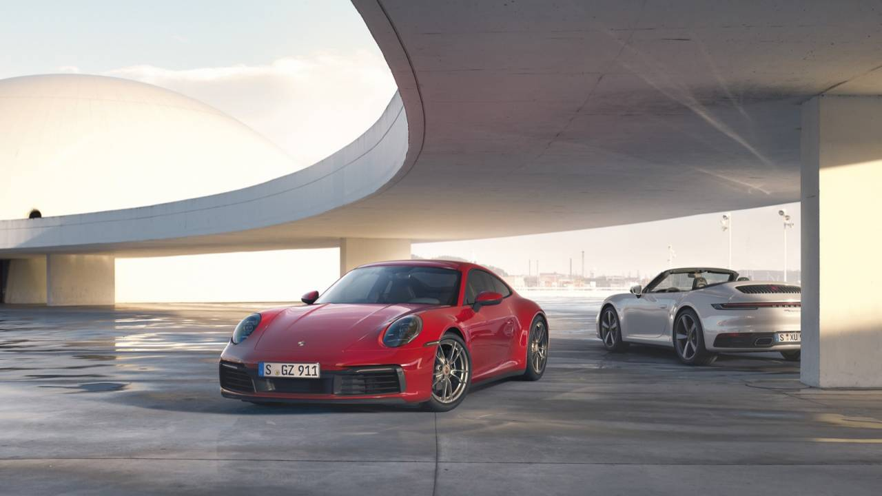 2020 Porsche 911 Carrera 4 Coupe and Cabriolet add all-wheel drive