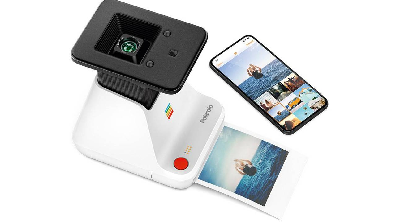 Polaroid Lab prints iPhone photos without ink