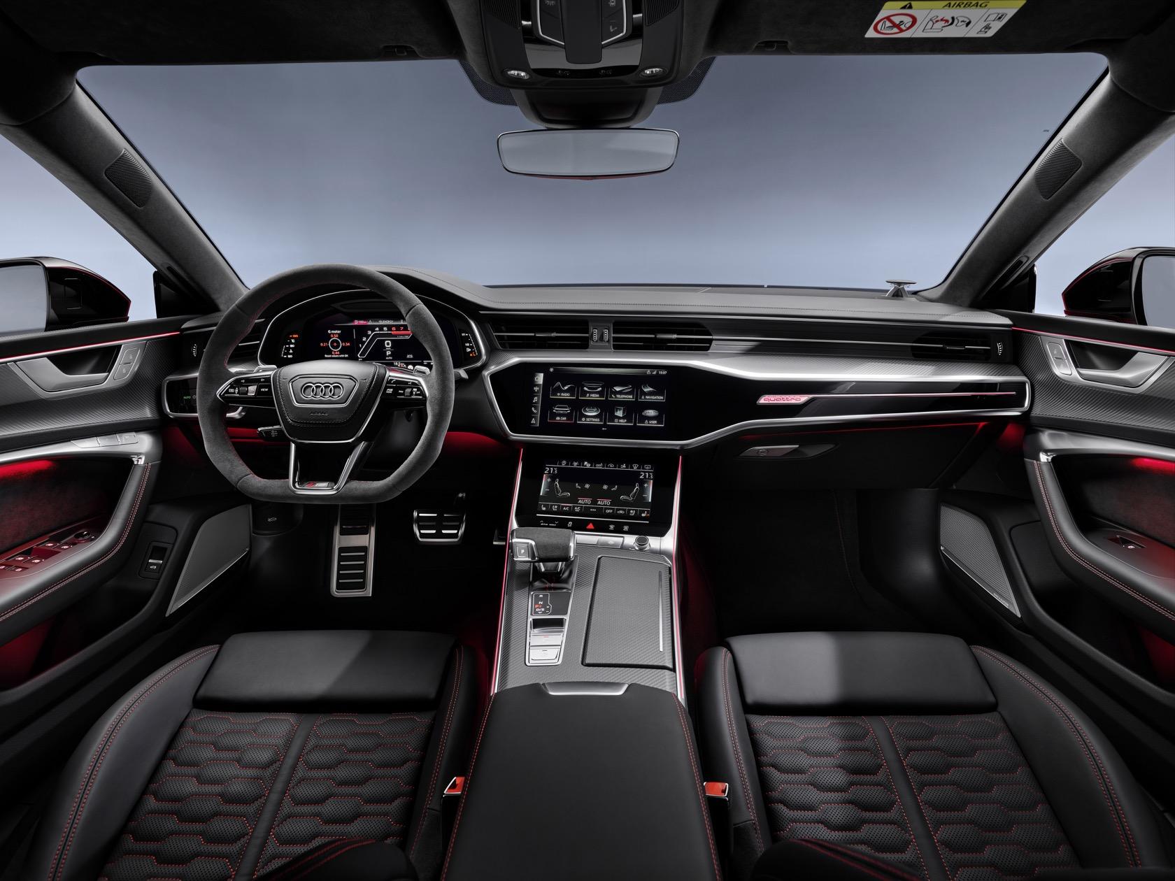 Audi Rs7 0-60 >> 2020 Audi Rs7 Sportback Puts 600hp V8 In Seductive Four Door