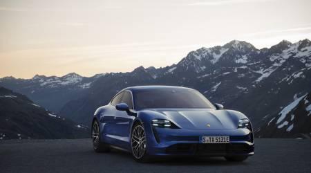 2020 Porsche Taycan Gallery
