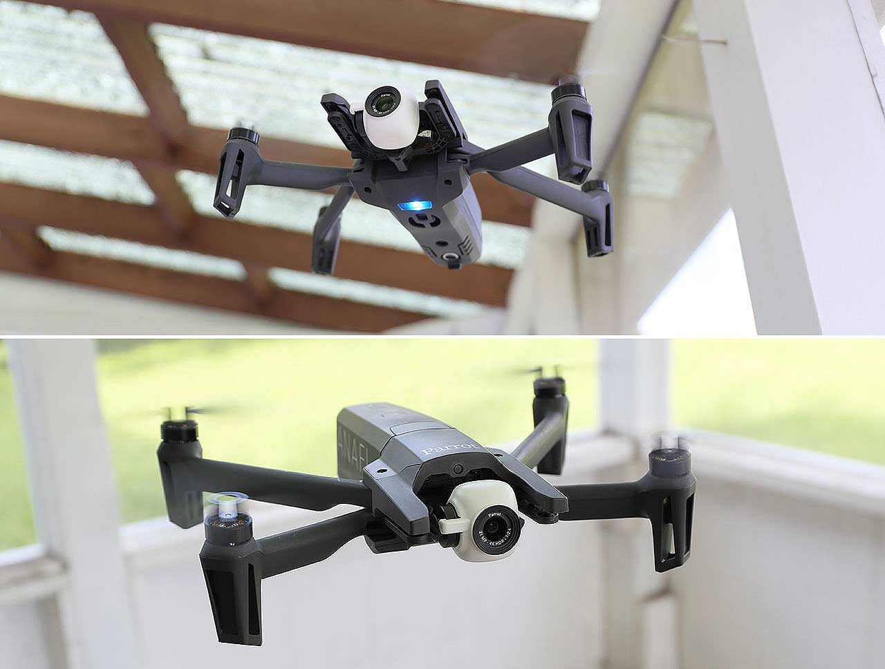 Parrot ANAFI FPV Review : All-In-One Pack for 4K drone