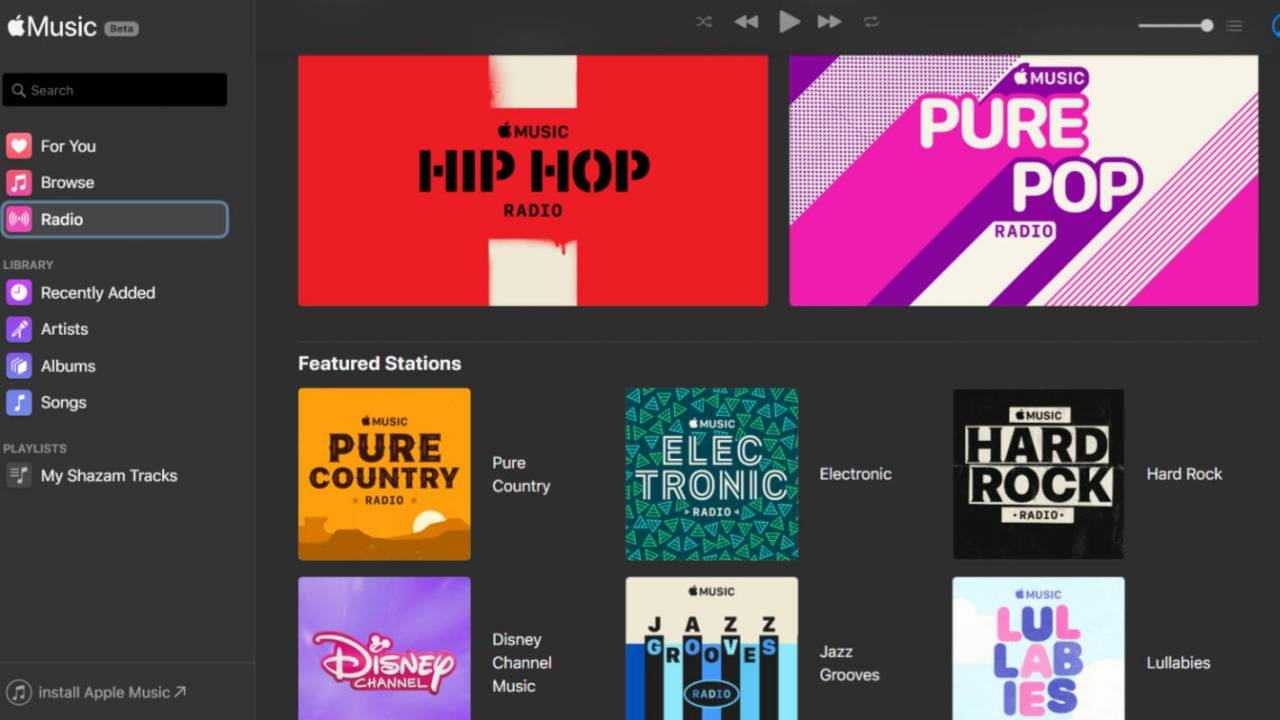 Apple Music web player is the beta we've been waiting for
