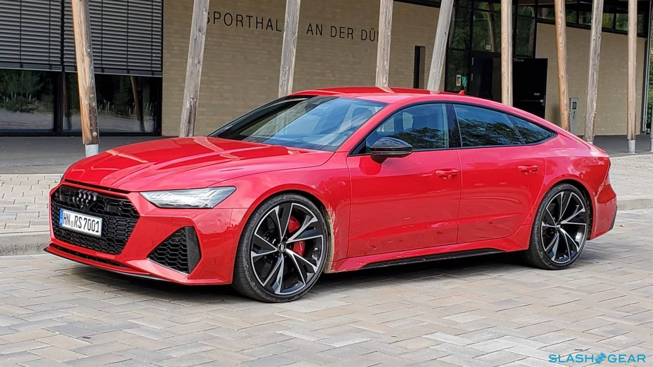 2020 Audi Rs7 Sportback First Drive Review Slashgear