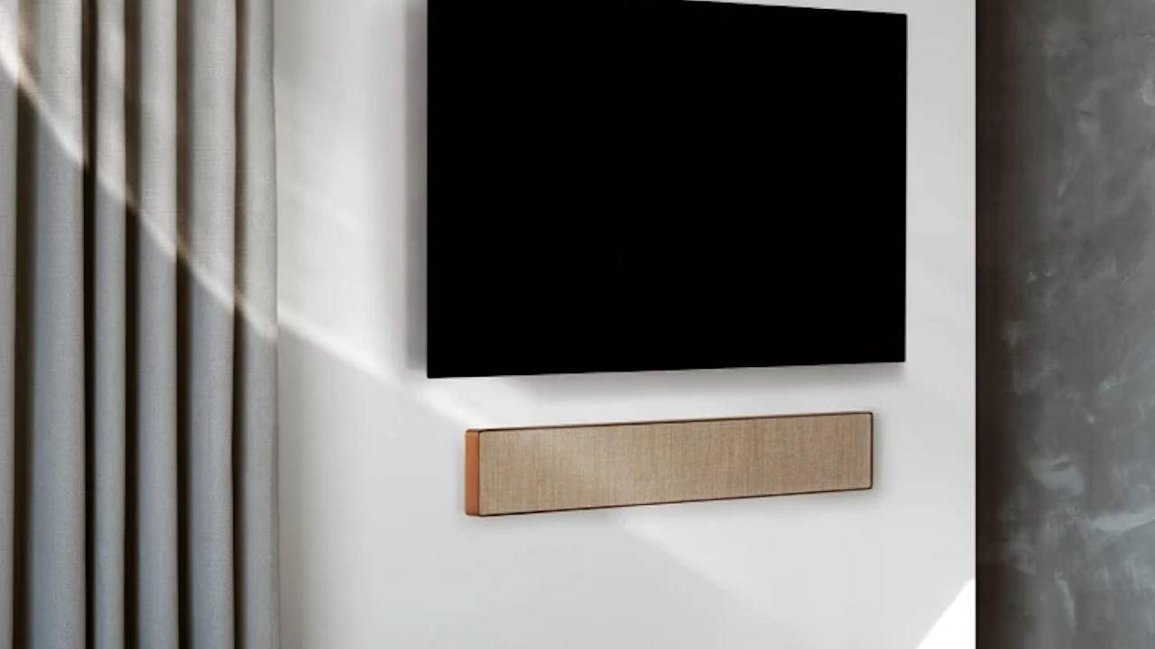 Beosound Stage marks B&O's entry into the soundbar market