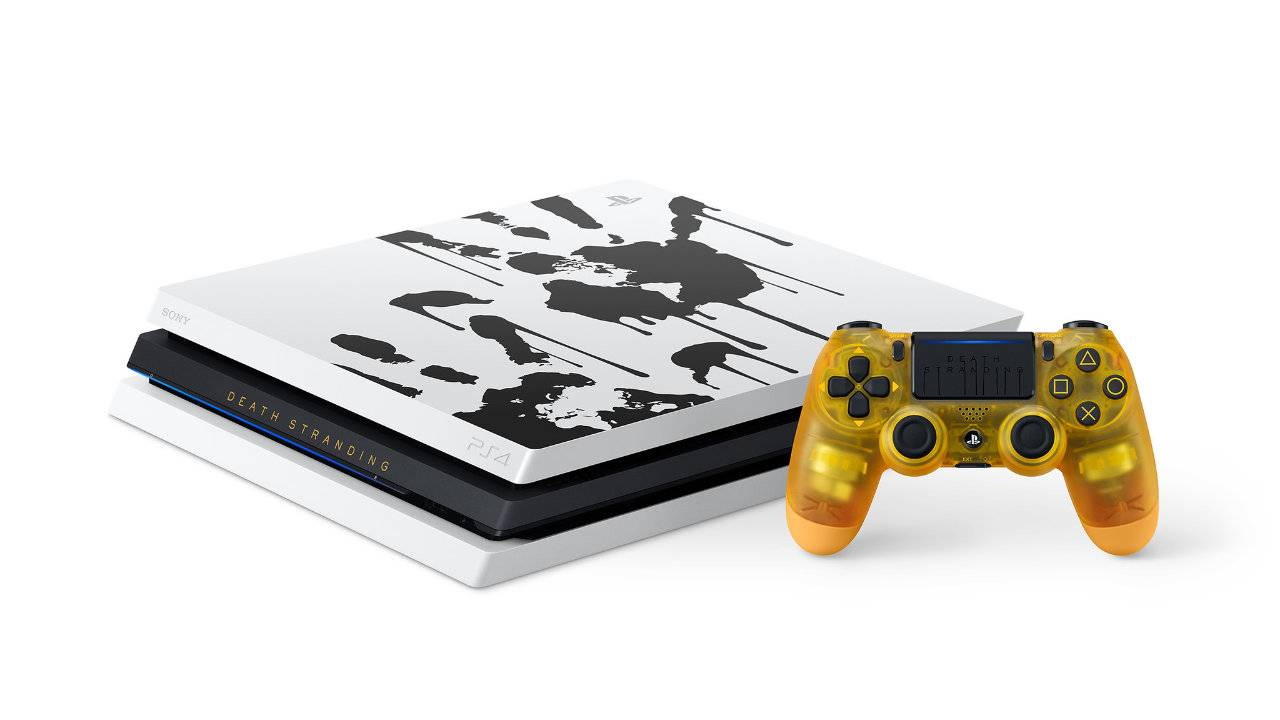 PS4 Pro 'Death Stranding' bundle includes translucent controller