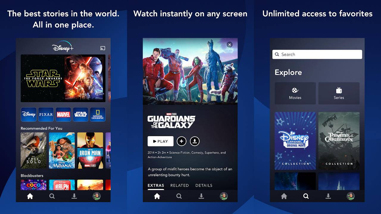 Disney+ on Android launches early for the Netherlands