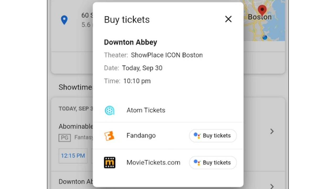 Google Duplex on mobile Chrome will soon let you buy movie tickets