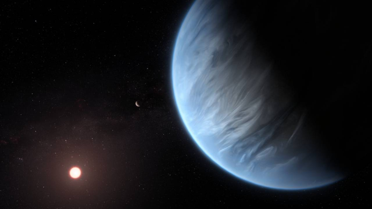 NASA finds first super-Earth exoplanet with water vapor in habitable zone