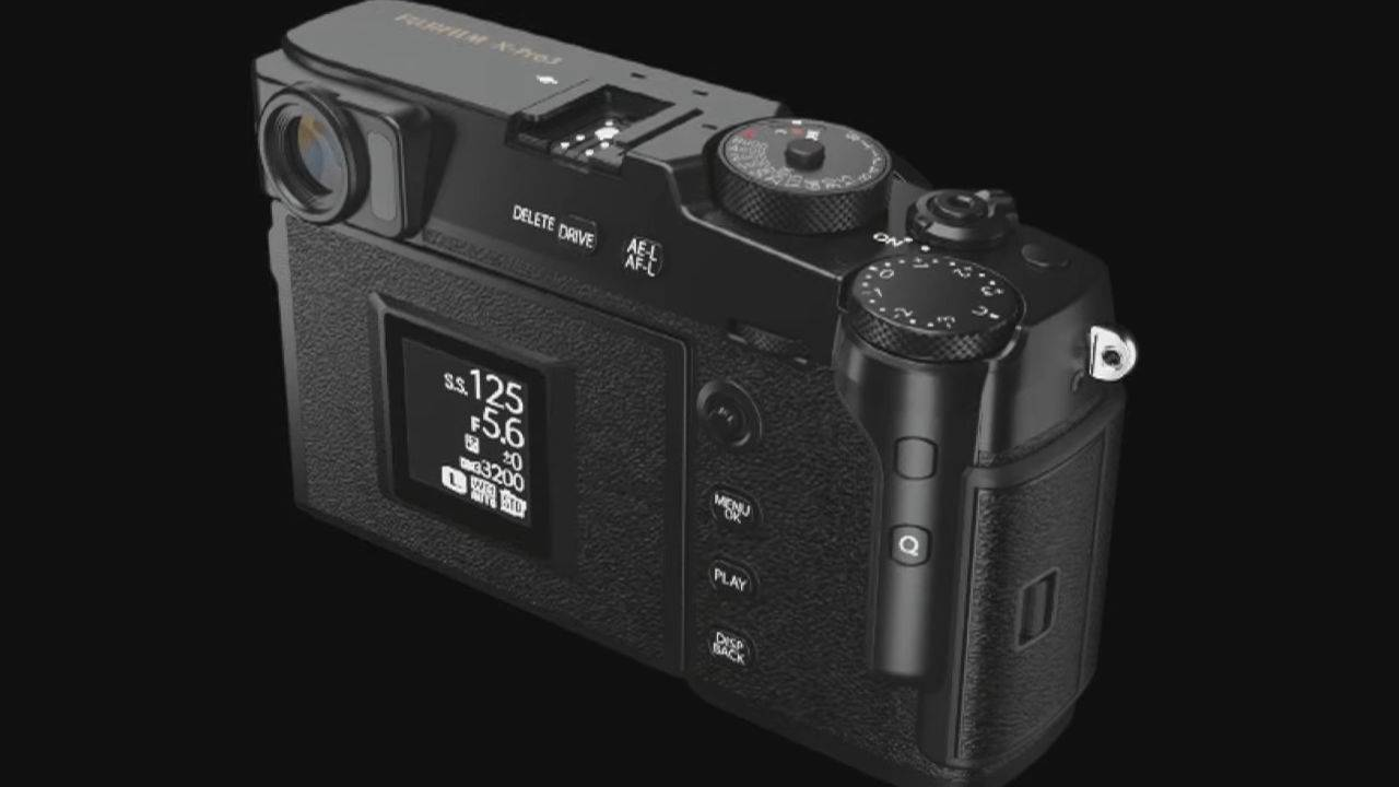 Fujifilm X-Pro3 camera packs hidden LCD, hybrid EVF, and retro design
