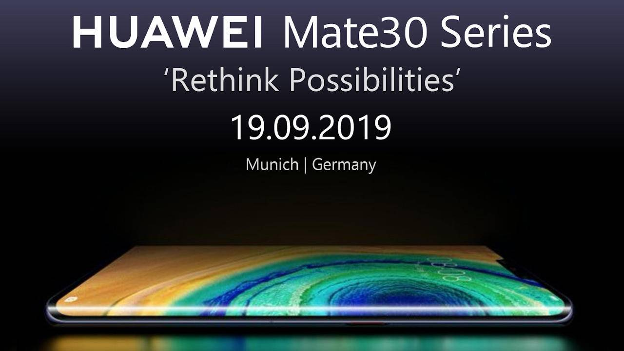 Huawei Mate 30 Pro leaks in full with bad news for Europe