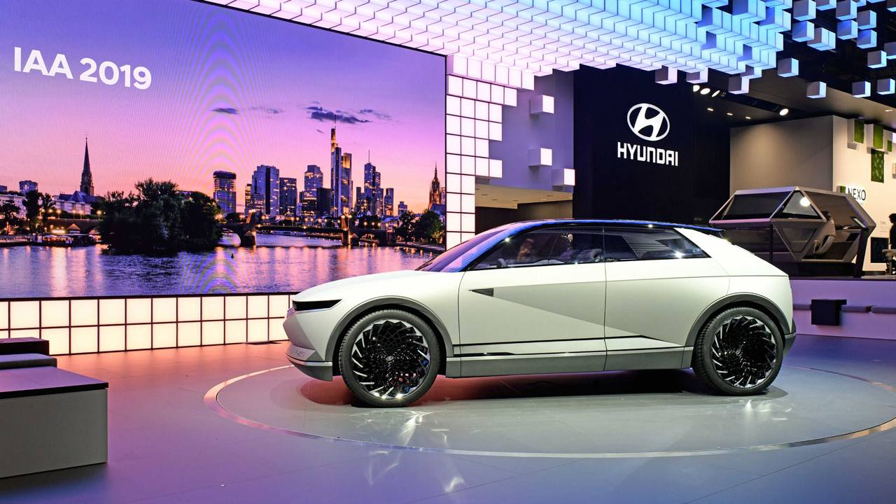 Hyundai reveals 45 EV Concept at IAA 2019