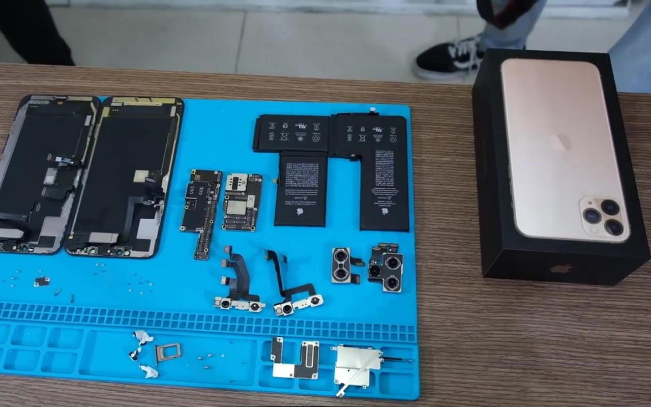 Iphone 11 Pro Max Teardown Reveals Larger Battery Xcode