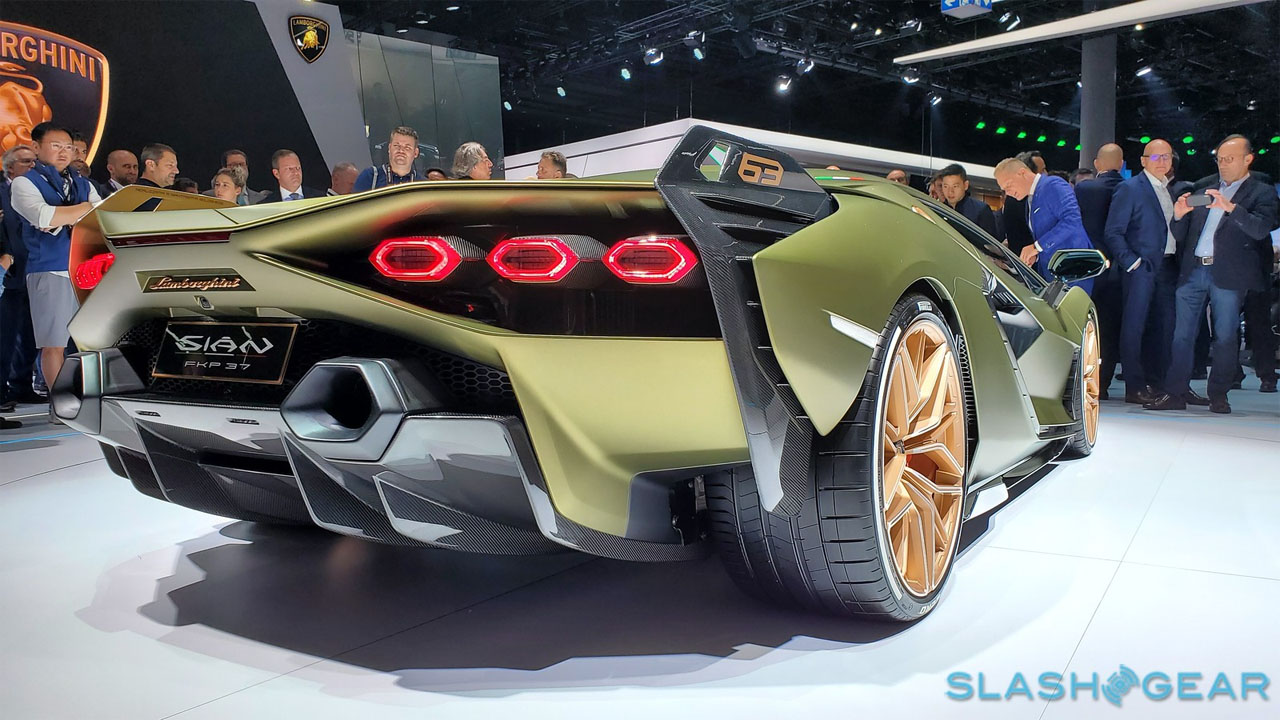 Lamborghini Sian FKP 37 debuts in Germany with monster V12