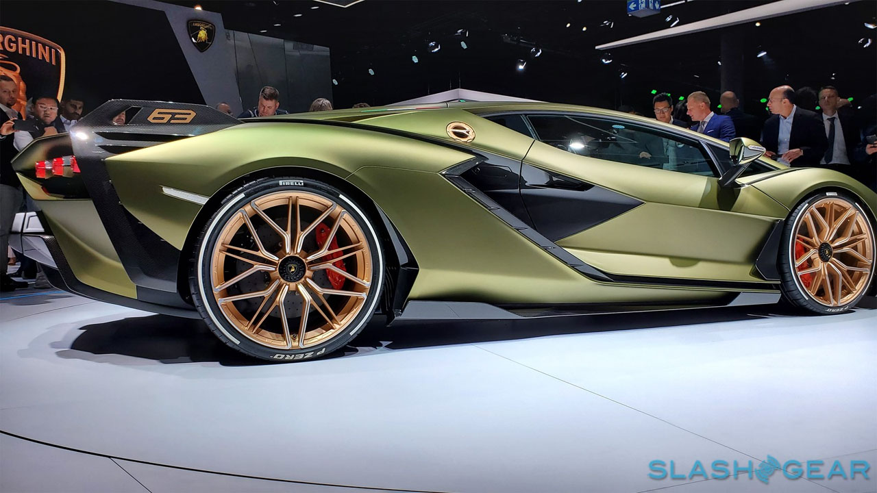 Lamborghini Sian FKP 37 debuts in Germany with monster V12