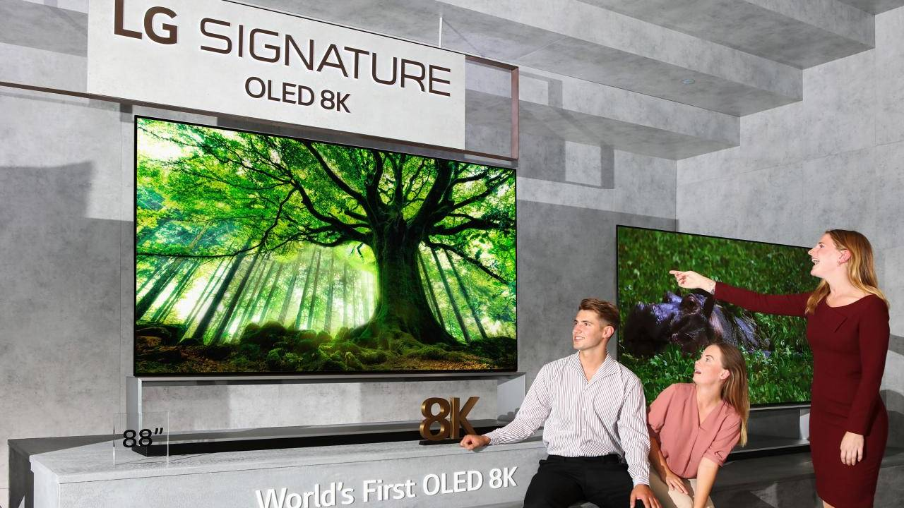 LG 8K OLED and 8K NanoCell TVs boast they're the real 8K deal