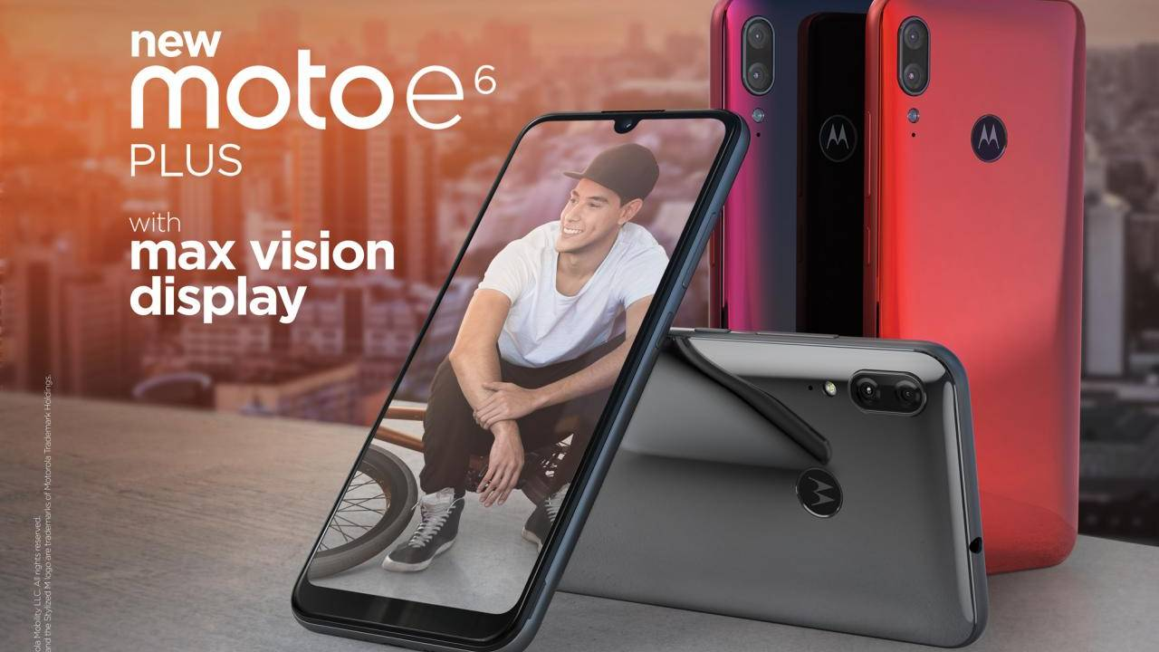 Moto E6 Plus adds a second camera, half an inch to 2019 budget phone