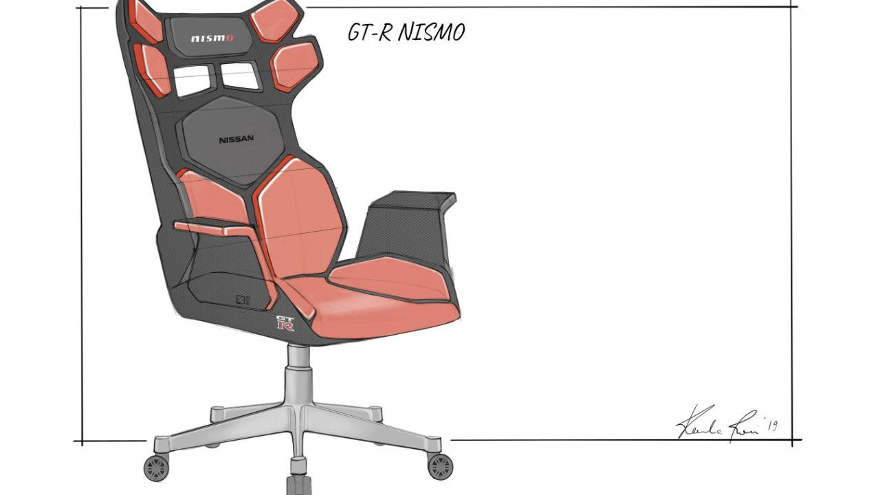 Nissan 'ultimate' gaming chair concepts are designed for esports