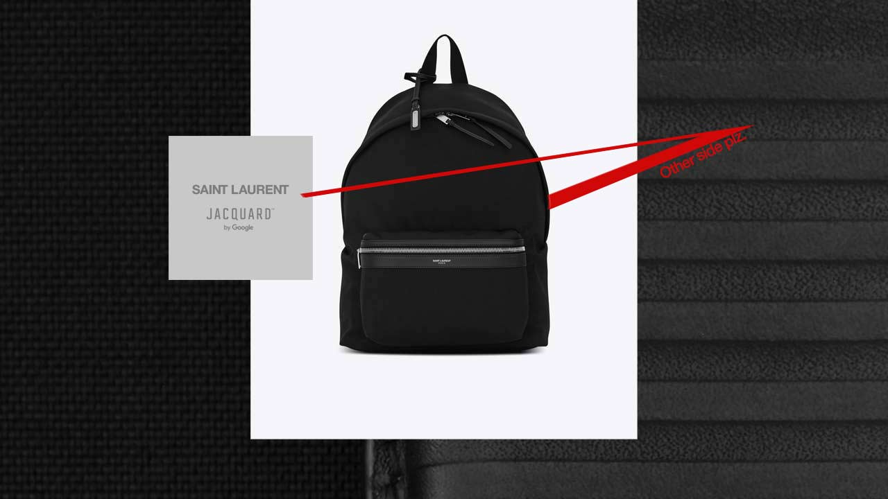 YSL CIT-E backpack is Google Jacquard's next piece of smart fashion