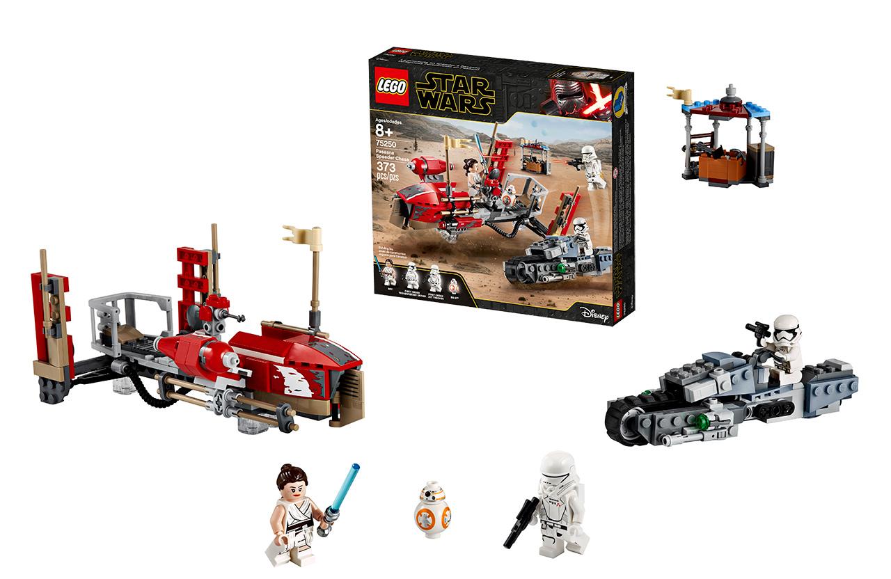 Star Wars Mandalorian Skywalker Lego Sets Revealed Slashgear