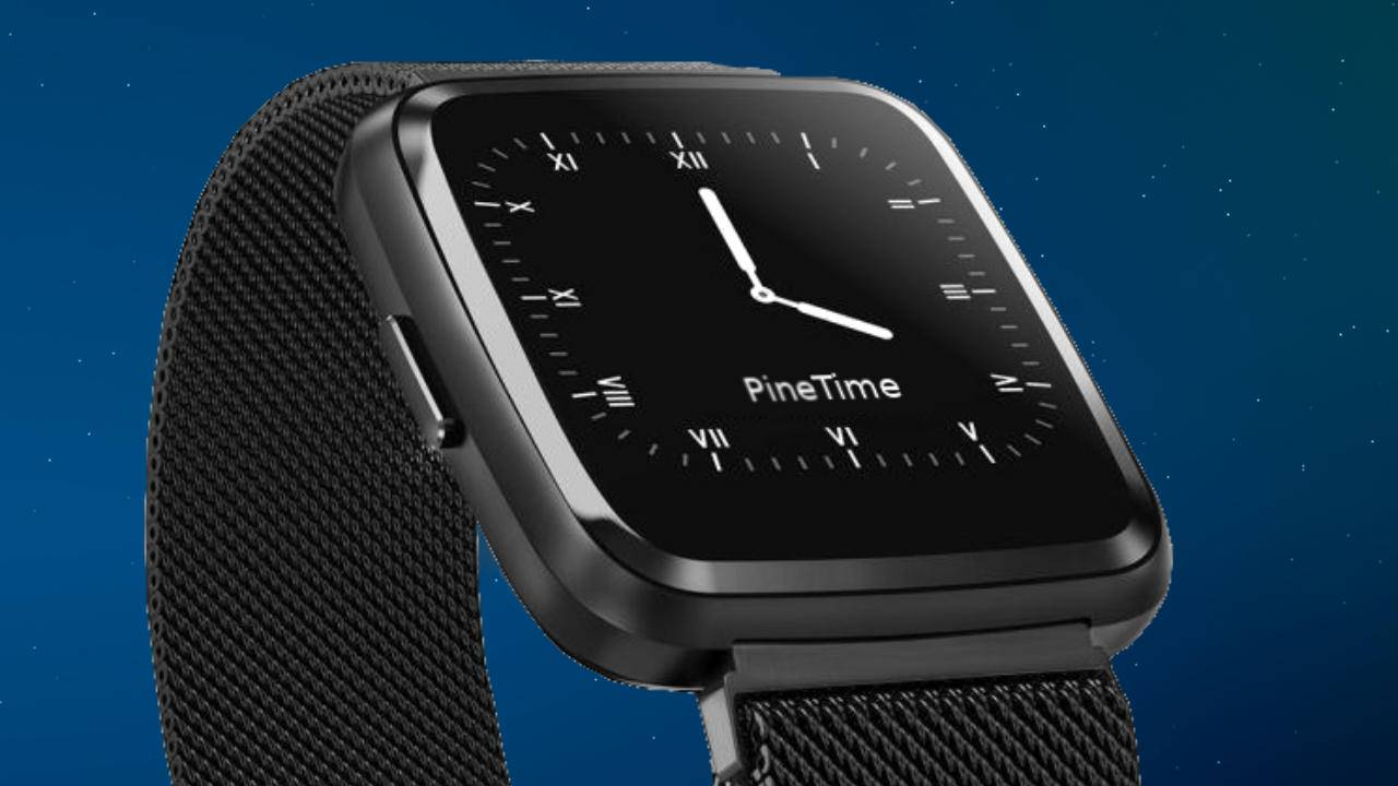 PineTime is Pine64's upcoming stab at an open source smartwatch