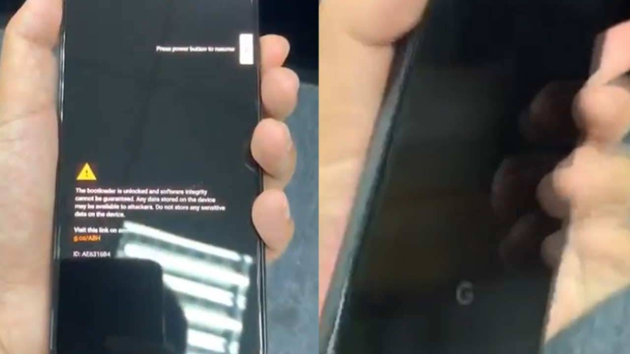 Google Pixel 4 phone release leaks in video, 4a not long behind