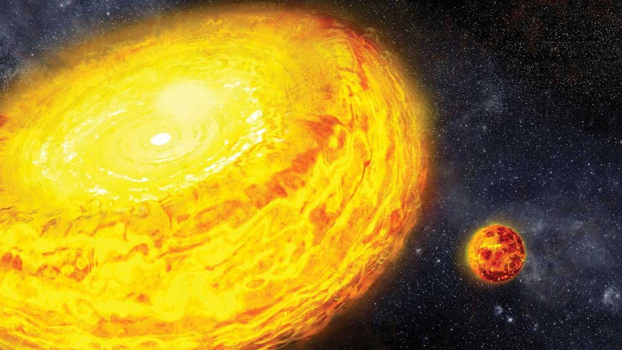 Caltech study finds internal pressures drop after planetary collisions
