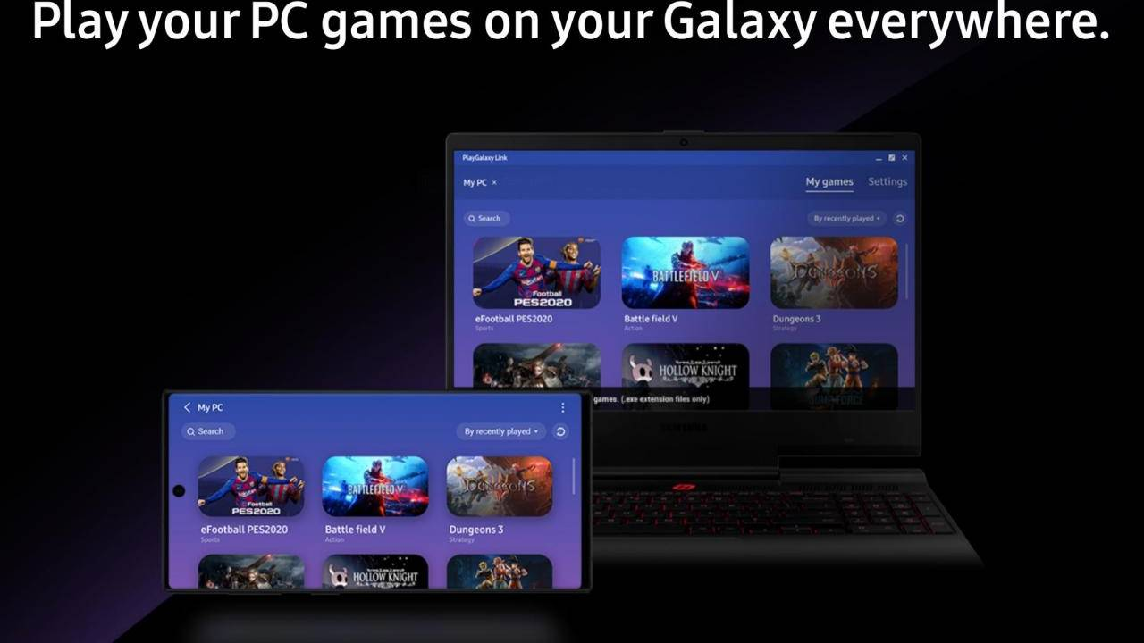 PlayGalaxy Link now available to stream Windows games to Galaxy Note 10