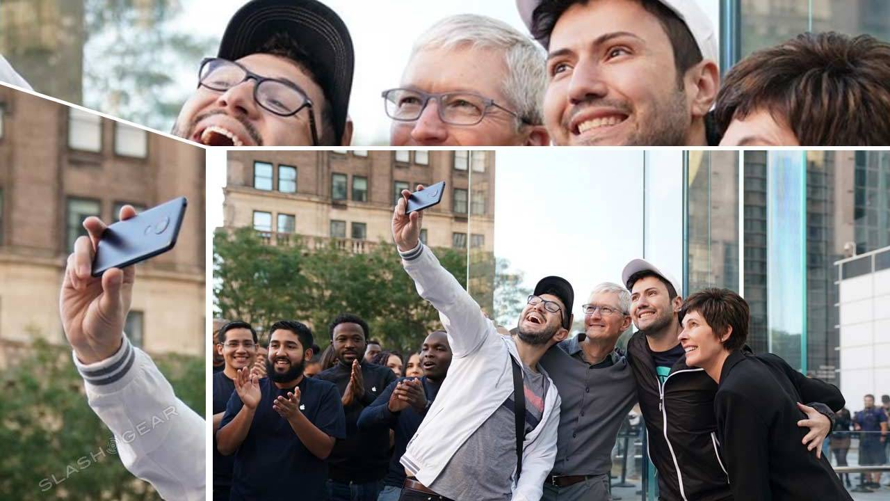 Tim Cook's Android selfie snapper gives Twitter a laugh on iPhone 11 release day