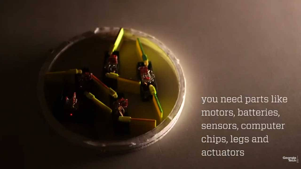 """Researchers build a robot using smaller robots called """"smarticles"""""""