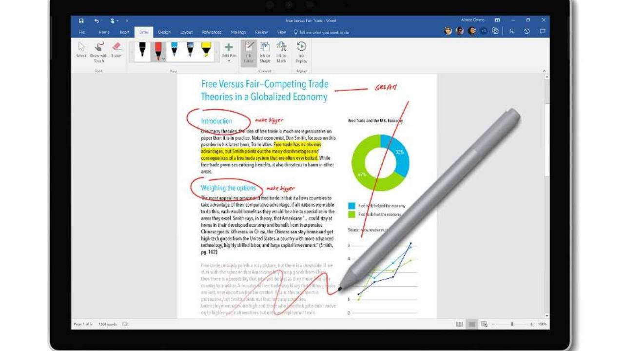 Surface Pro 7 Surface Pen could have a few tricks up its sleeve