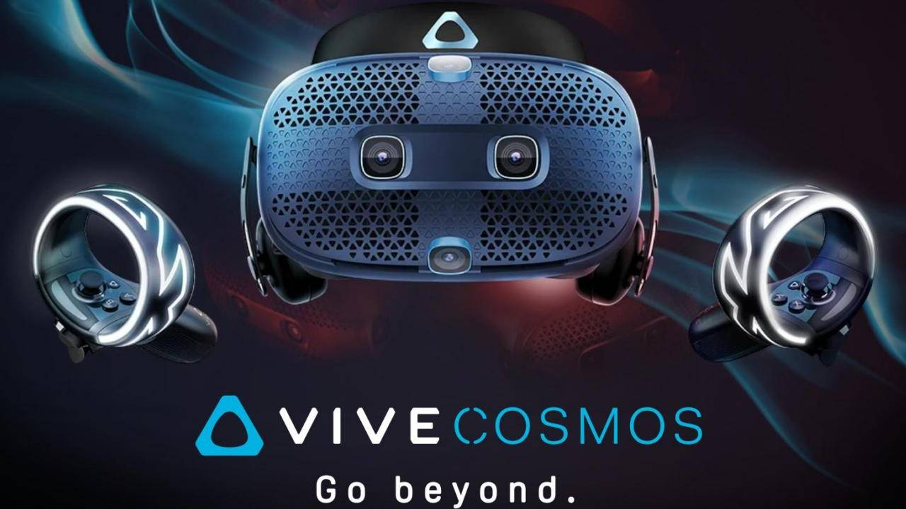 HTC Vive Cosmos VR headset pre-orders now available, first mod revealed