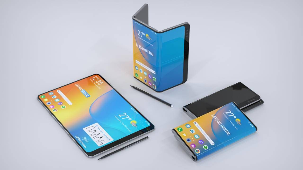 LG tri-fold phone patent comes with a stylus, too good to be true