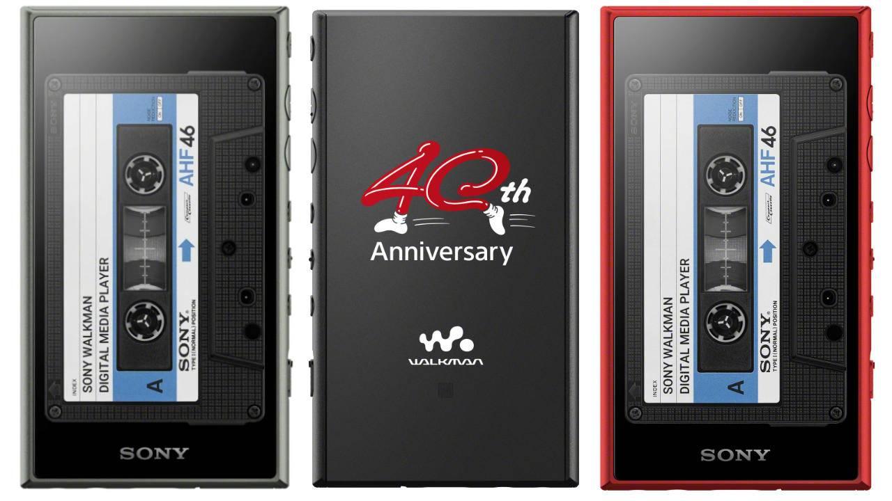 Sony 40th Anniversary Walkman includes retro cassette player case