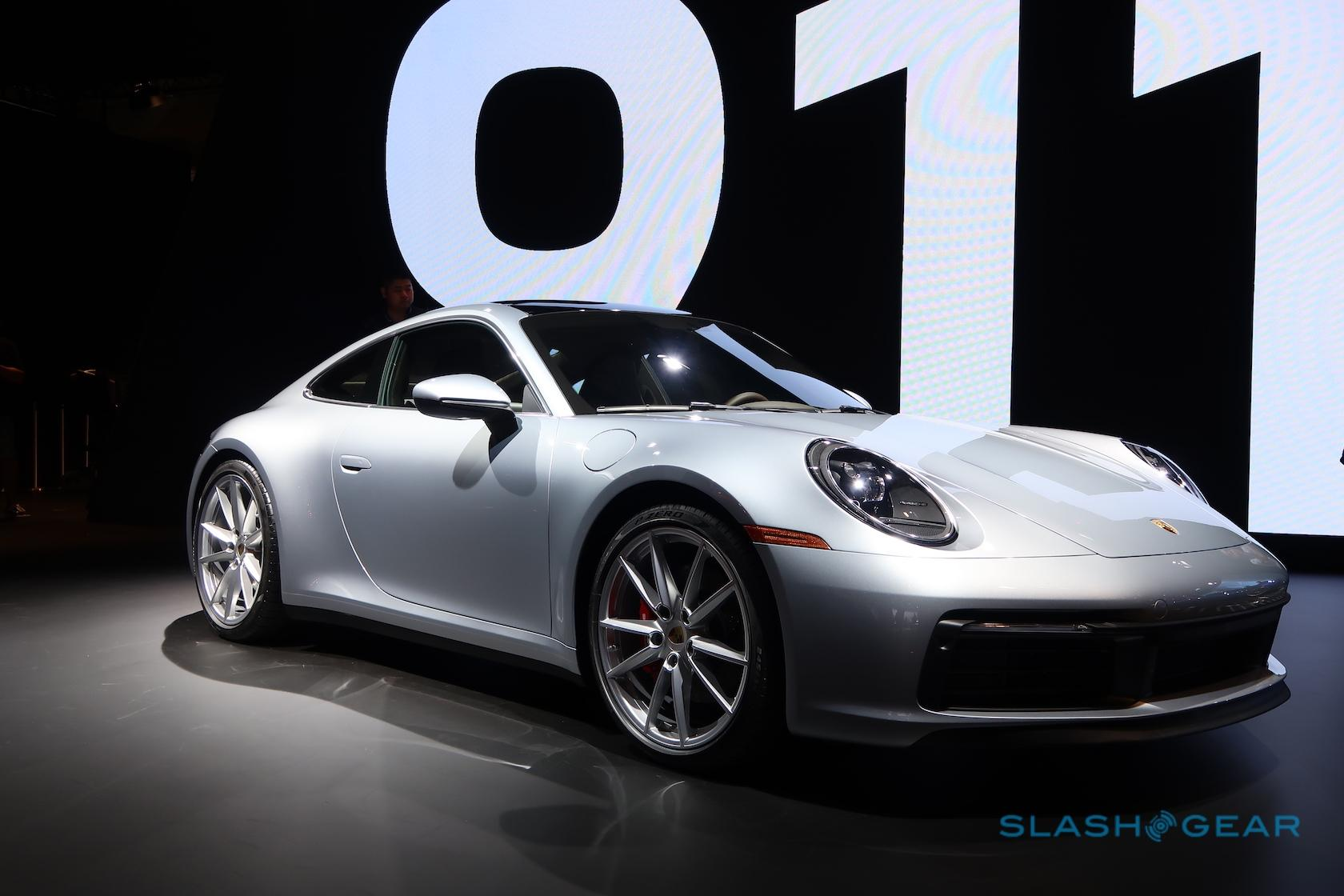 2020 Porsche 911 Gives Manual Fans Something To Smile About Slashgear