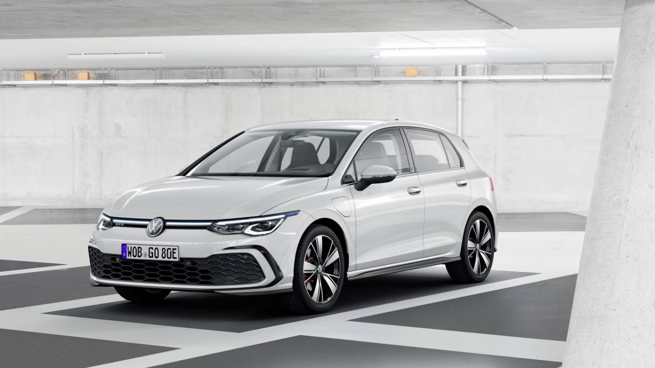 2020 vw golf 8th gen revealed five hybrids gti and r. Black Bedroom Furniture Sets. Home Design Ideas