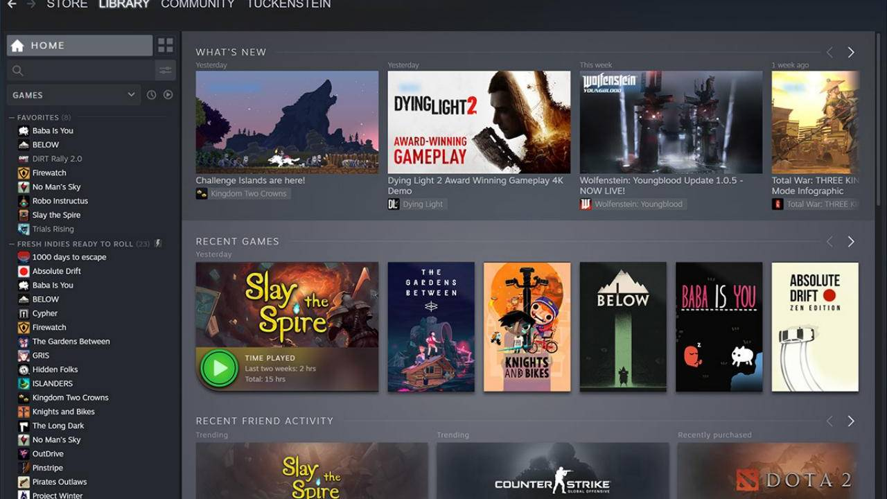 Steam Library's long-overdue makeover is finally rolling out
