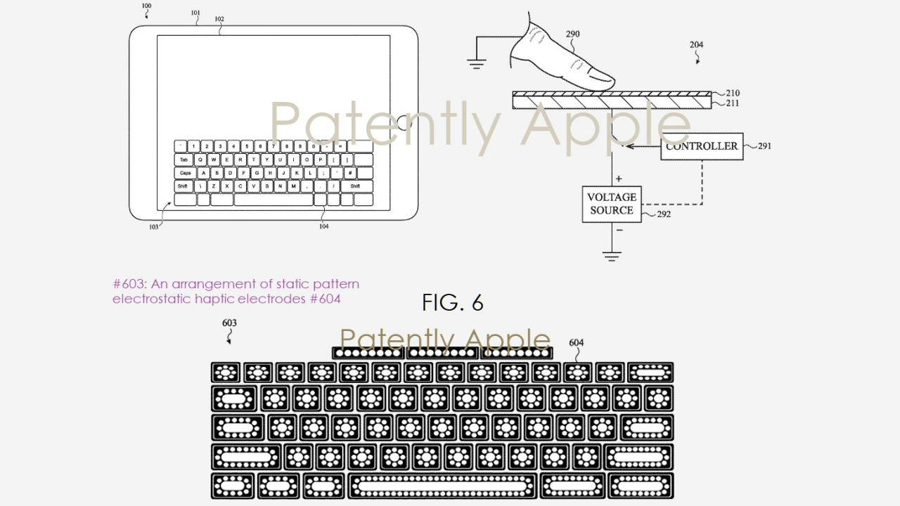 iPad on-screen keyboard could feel like the real thing in the future