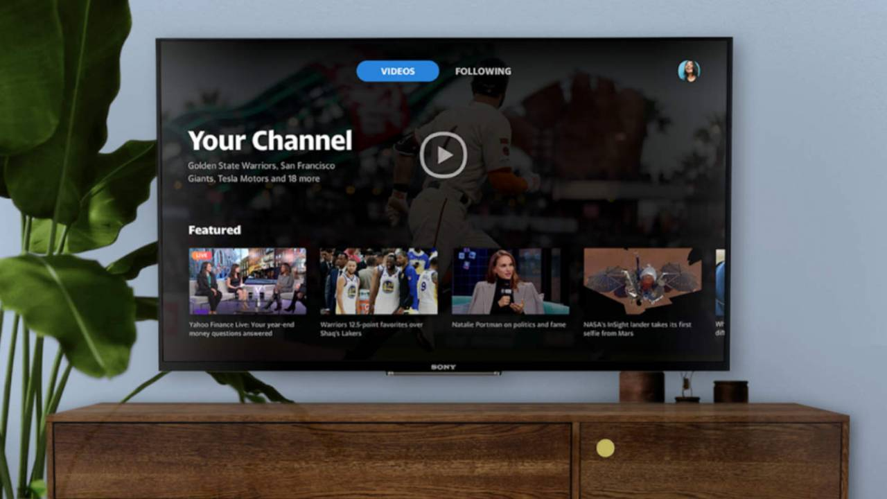Yahoo video app with sports and more arrives on Android TV