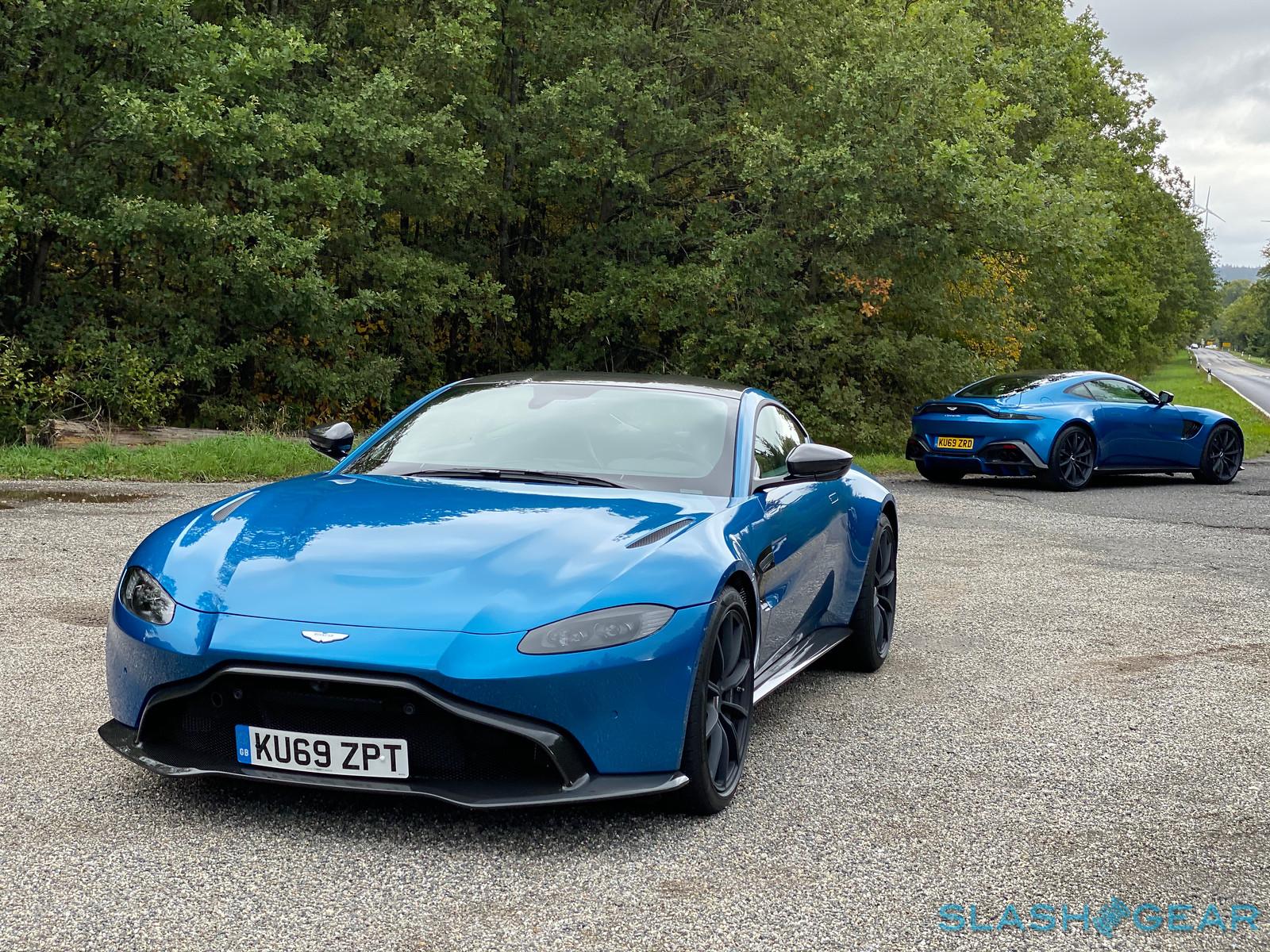 2020 Aston Martin Vantage Amr First Drive Long Live The Manual Slashgear
