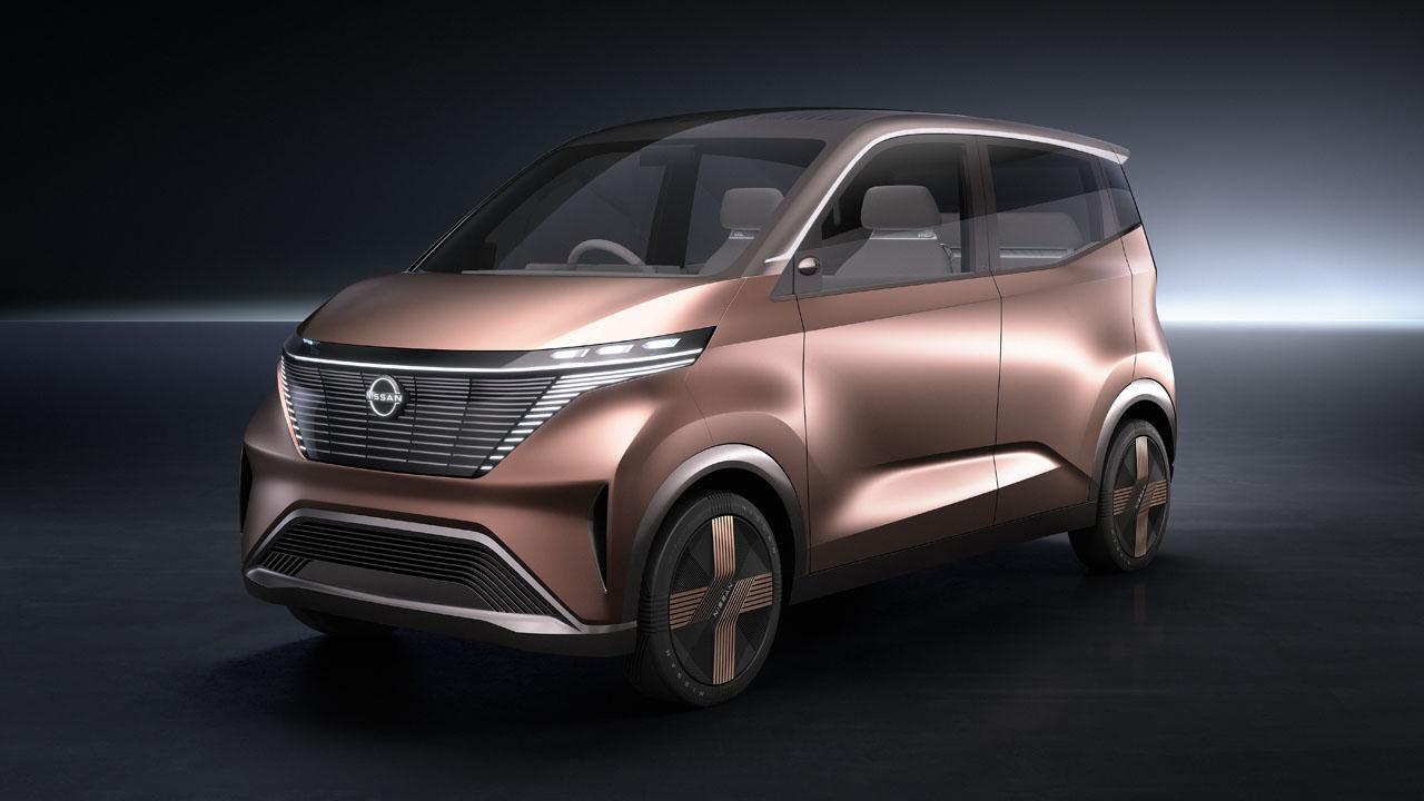 Nissan unveils the IMk concept EV