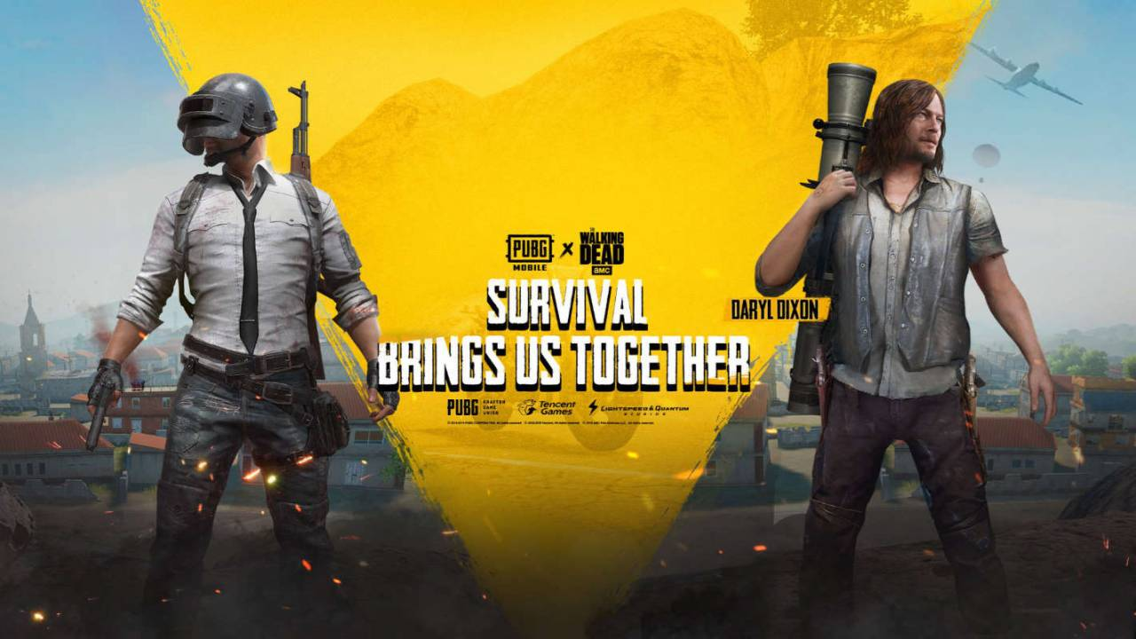 PUBG Mobile's 'The Walking Dead' crossover is now available