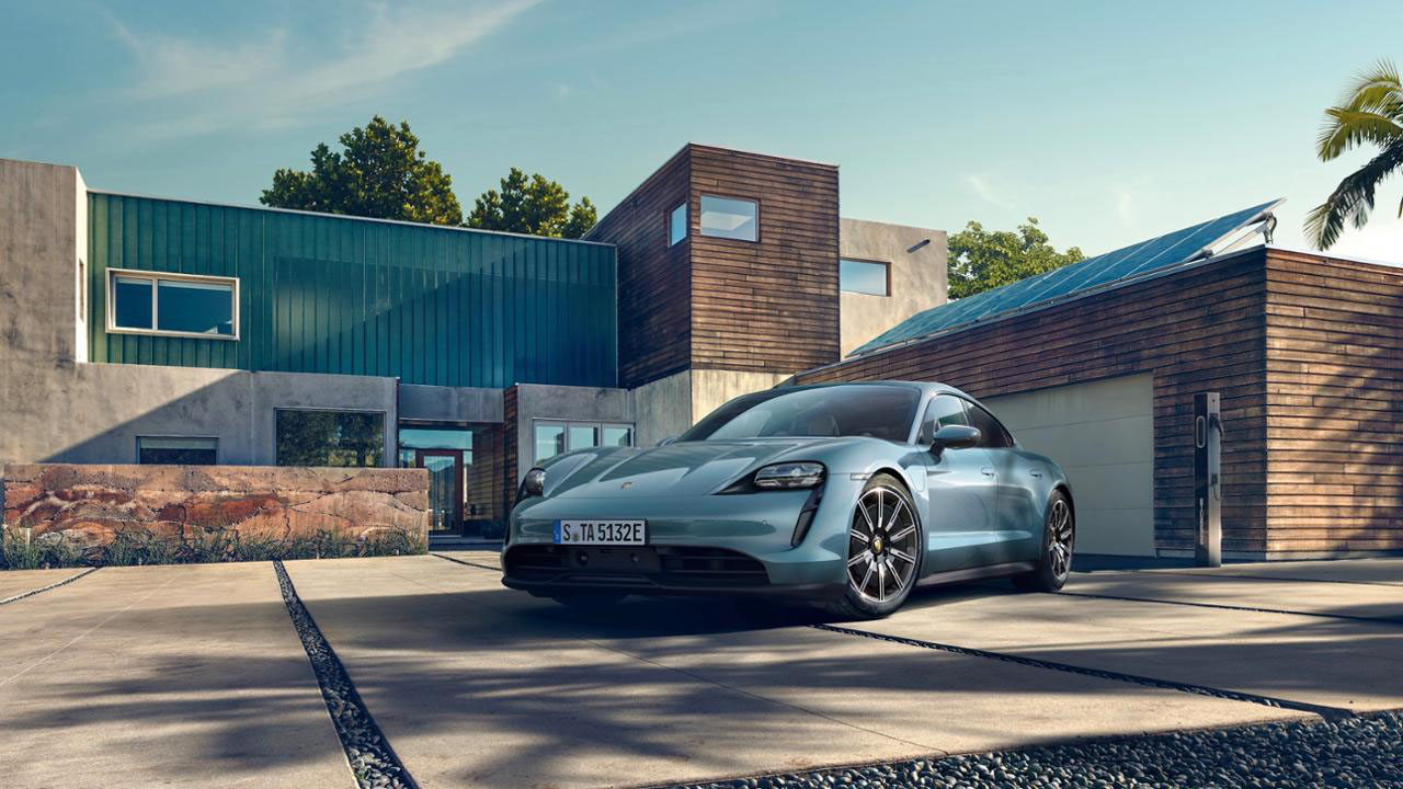 Porsche unveils the Taycan 4S entry-level EV sports car